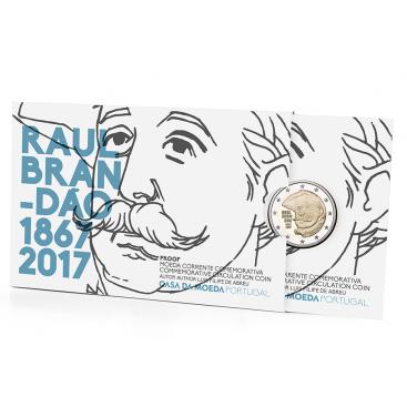 Coincard BE 2 Euro Portugal 2017 Raul Brandao