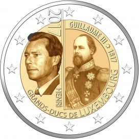 2 Euro Luxembourg 2017 Grand Duc Guillaume III