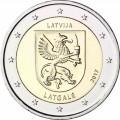 2 Euro Lettonie 2017 Les Armoiries de Latgale