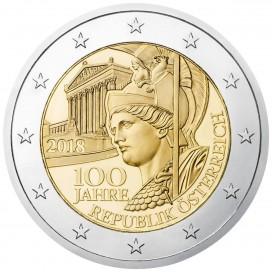 2 Euro Autriche 2018
