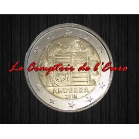 2 Euros Andorre courante 2015