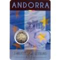 2 Euro Andorre 2015 Accord Douanier