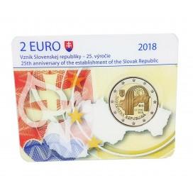 Coincard 2 Euro Slovaquie 2018 BU - République de Slovaquie