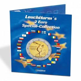 ALBUM NUMISMATIQUE PRESSO, EURO COLLECTION POUR PIÈCES DE MONNAIE DE 2 EUROS