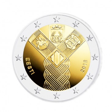 2 Euro Estonie 2018 - 100 ans des Etats Baltes