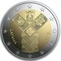 2 Euro Lettonie 2018 - 100 ans des Etats Baltes