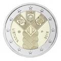 2 Euro Lituanie 2018 - 100 ans des Etats Baltes