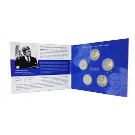 5 x 2 euro Allemagne Helmut Schmidt 2018 BE