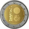 2 Euro Estonie 2018 Centenaire de l'indépendance de l'Estonie