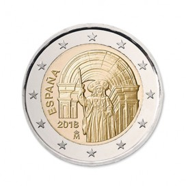 2 Euro Espagne 2018 Saint Jacques de Compostelle