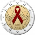 2 euro commemorative BE France 2014-SIDA