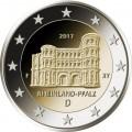5 x 2 Euro Allemagne 2017 Porta Nigra
