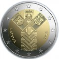 Coincard 2 Euro Estonie 2018 - 100 ans des Etats Baltes