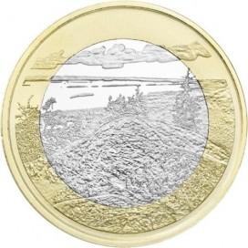 5 Euro Finlande 2018 PAYSAGES NATIONAUX FINLANDAIS