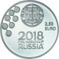 2.5 Euro Portugal 2018 Coupe du Monde de Football
