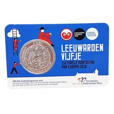 5 euro Pays Bas 2016