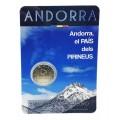 2 Euro Andorre 2017 Pays des Pyrénées