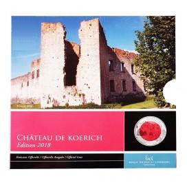 5 Euro Nobium Luxembourg 2018 Chateau de Koerich