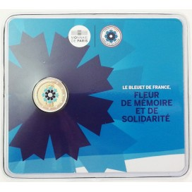 Coincard 2 Euro France 2018 Bleuet