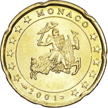 20 cent Monaco 2001