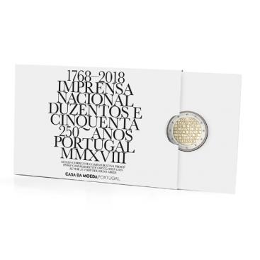 2 Euro Portugal 2018 Belle Epreuve Imprimerie nationale