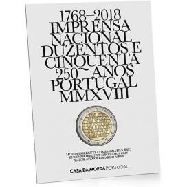 2 Euro Brillant Universel Portugal 2018 Imprimerie nationale