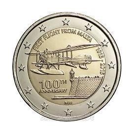 2 euro commemorative Malte 2015