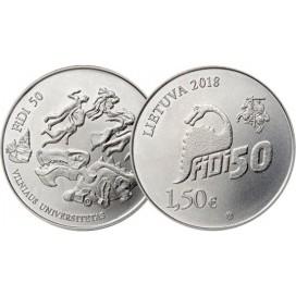 1,5 Euro Lituanie 2018 - Université de Vilnius