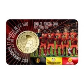 Coincard 2,50 Euro Francaise Belgique 2018