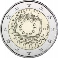 2 Euro Pays Bas 2015 Drapeau