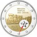 2 Euro Malte 2018 Mnajdra variante