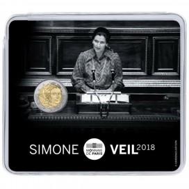 2 Euro France 2018 Simone Veil