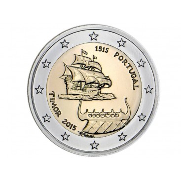 2 Euros Portugal 2015 - Echange avec le Timor
