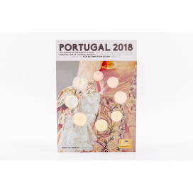 Coffret FDC Portugal 2018