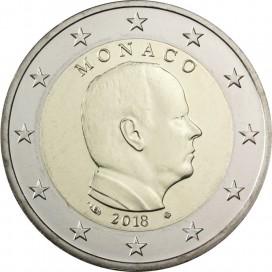 2 Euros Monaco 2018