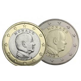 pack 2 euro + 1 Euro Monaco 2018