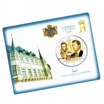 Coincard Luxembourg 2018 Grand-duc Guillaume Ier