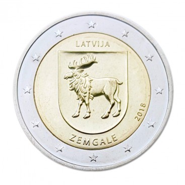 2 Euro Lettonie 2017 Zemgale