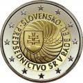 2 Euro Slovaquie 2016 Presidence UE