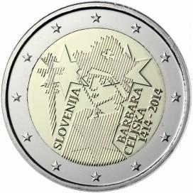 2 euro commemorative Slovénie 2014
