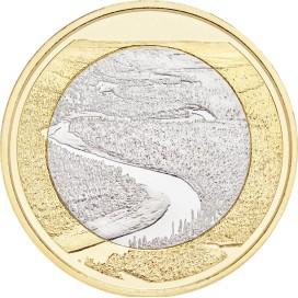 5 Euro Finlande 2018 - Rivière Oulankajoki