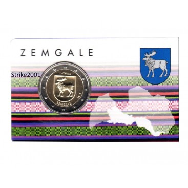 Coincard 2 Euro Lettonie 2018 - Zemgale