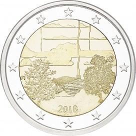 2 Euro Finlande 2018 Sauna