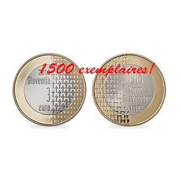 3 euro Slovénie 2018 BE