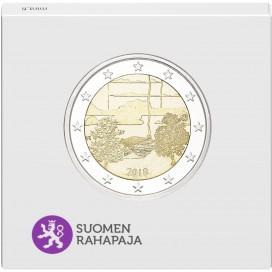 2 Euro Finlande 2018 BE Sauna