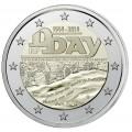 2 euro commémorative FRANCE 2014 D-DAY