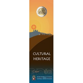 Coincard 2 Euro Malte 2018 Heritage Culturel