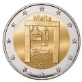 2 Euro Malte 2018 Heritage Culturel