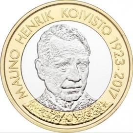 5 Euro Finlande 2018 Mauno Koivisto