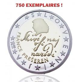 2 € BE SLOVENIE 2018 - 750 EXEMPLAIRES !